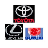 Toyota, Lexus, Suzuki