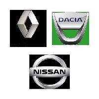 Renault, Dacia, Nissan